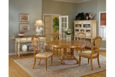 Wilshire 5pc. Antique Oak Dining Set