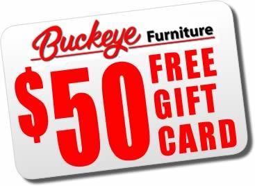 Buckeye Furniture Free Gift Card