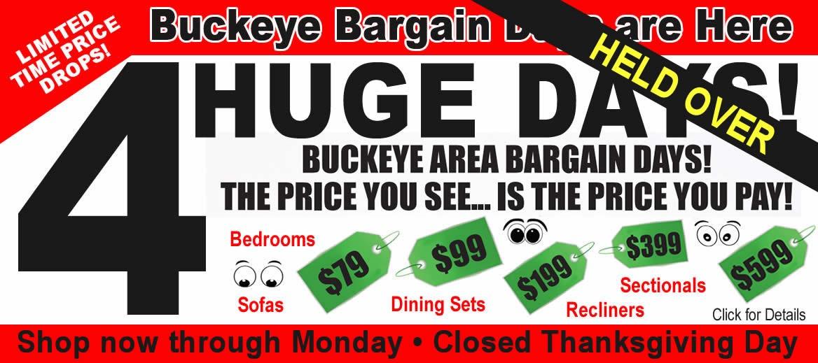 Buckeye Area Bargain Days