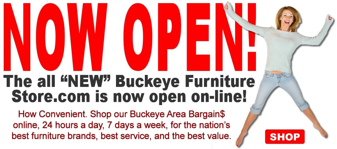 Buckeye Furniture online store.