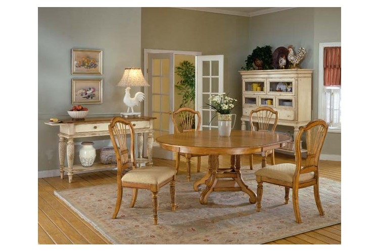 Fine Wilshire 5Pc Antique Oak Dining Set Buckeye Furniture Store Lima Ohio Caraccident5 Cool Chair Designs And Ideas Caraccident5Info