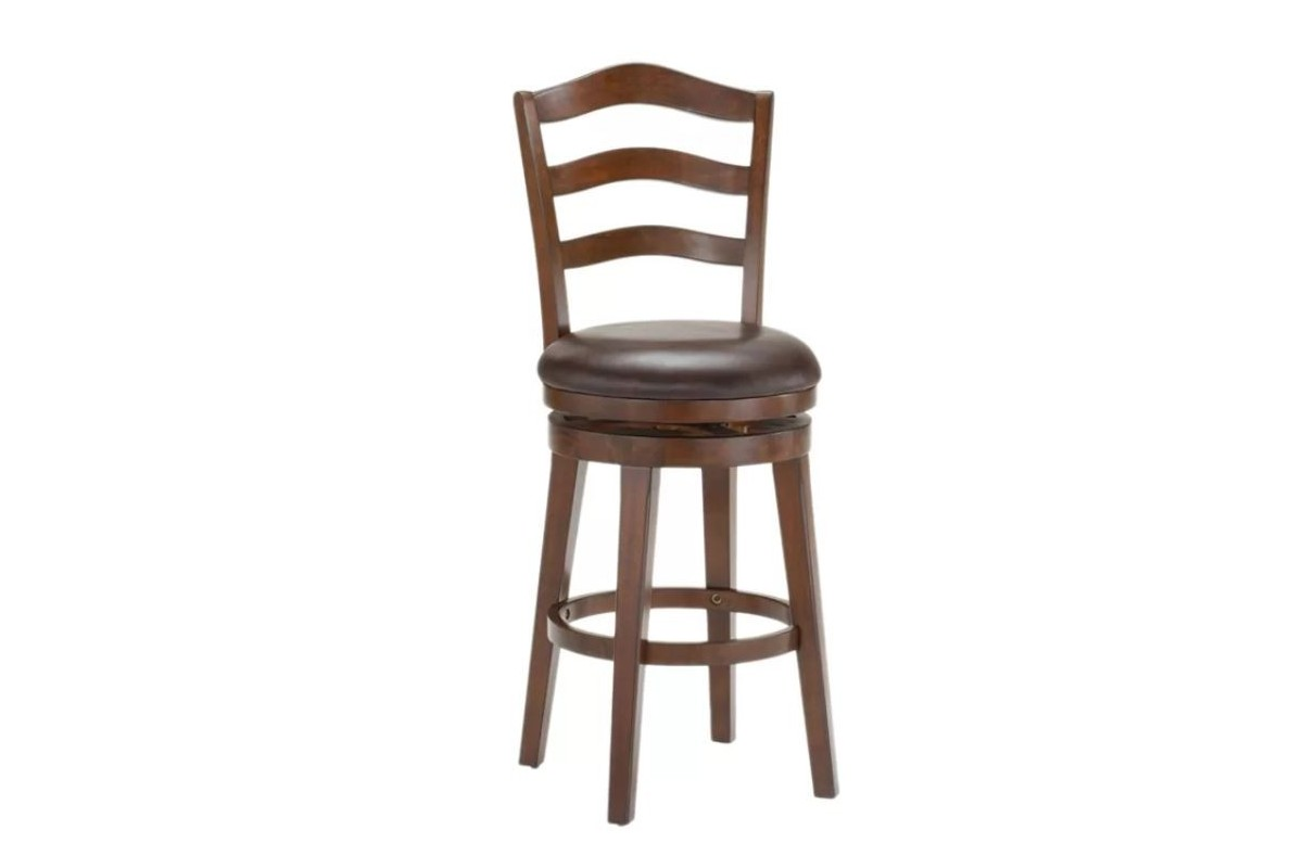 Furniture Stores In Lima Ohio: Windsor Wood Swivel Counter Stool