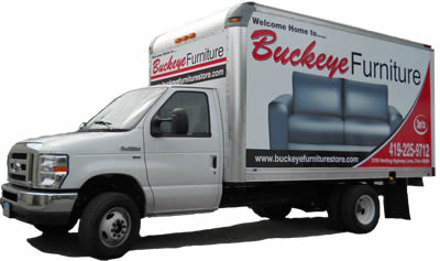 Buckeye Furniture professional delivery